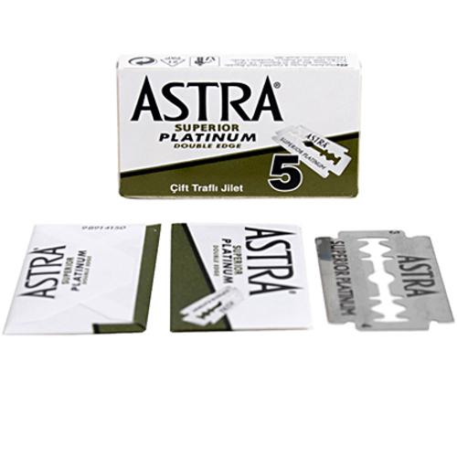 Astra Superior Platinum Yaprak jilet, 5li