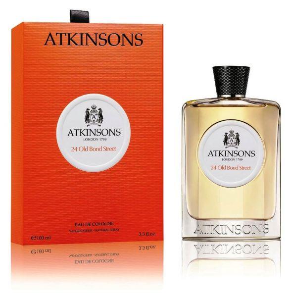 Atkinsons 24 Old Bond Street Eau de Cologne, 100 ml