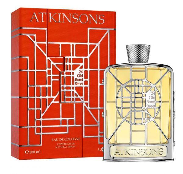 Atkinsons 24 Old Bond Street Limited Edition Eau de Cologne, 100 ml