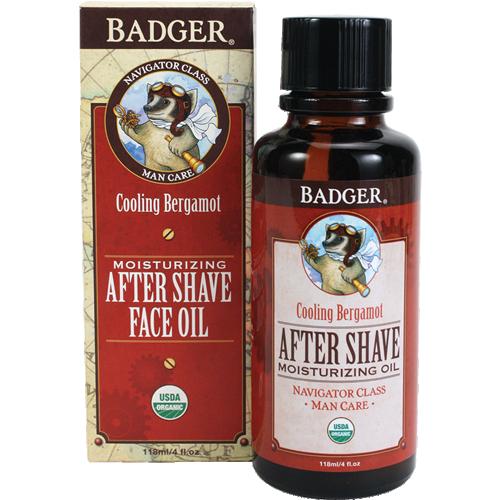 Badger Tıraş Sonrası Nemlendirici Yağ, 118 ml