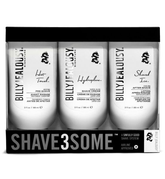 Billy Jealousy Shave3Some Tıraş Üçlüsü, 3*88 ml