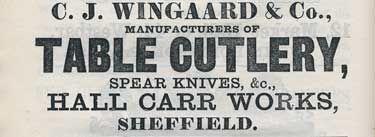 C.J. Wingaard & Co Çelik Ustura, Paduk Ağacı Saplı