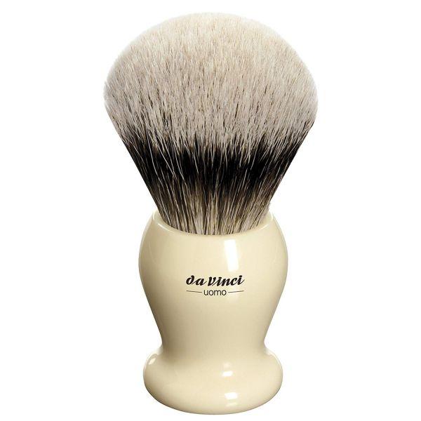 Da Vinci UOMO 291 Tıraş Fırçası, Silvertip Badger