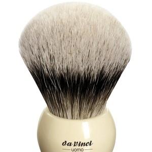 Da Vinci UOMO 291 Tıraş Fırçası, Silvertip Badger - Thumbnail