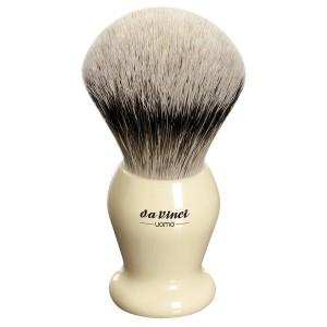 Da Vinci - Da Vinci UOMO 294 Tıraş Fırçası, Silvertip Badger