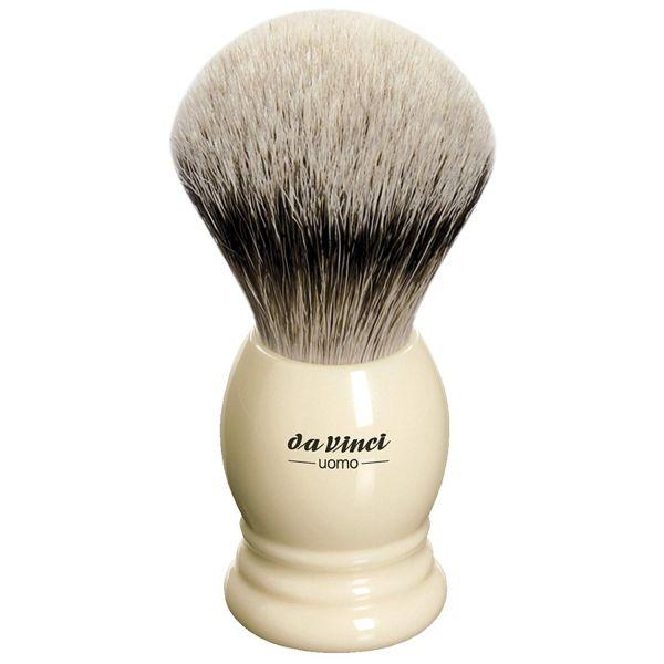 Da Vinci UOMO 298 Tıraş Fırçası, Silvertip Badger