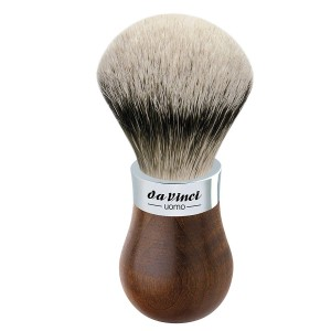 Da Vinci - Da Vinci UOMO 299 Tıraş Fırçası, Silvertip Badger