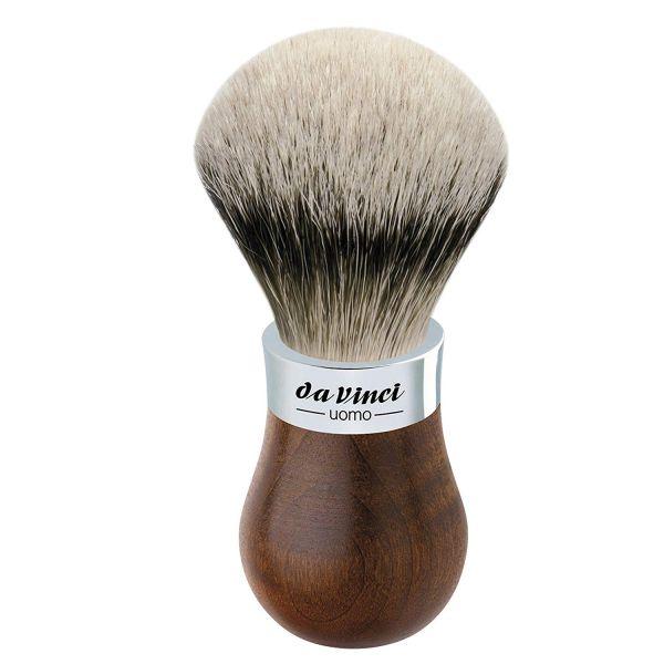 Da Vinci UOMO 299 Tıraş Fırçası, Silvertip Badger