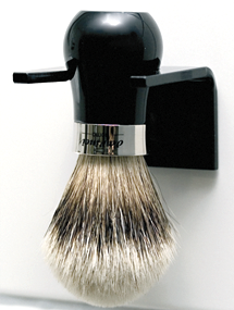 Da Vinci UOMO Tıraş Fırçası Standı, Siyah