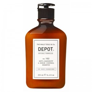 Depot - Depot No.102 Kepek Önleyici ve Yağ Kontrol Şampuanı, 250 ml