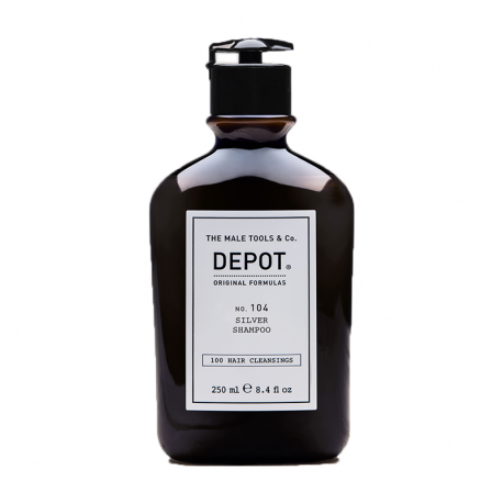 Depot No.104 Gri-Beyaz Saçlara Özel Silver Şampuan, 250 ml