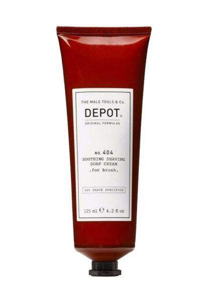 Depot No.404 Yumuşatıcı Tıraş Kremi, Fırça ile Kullanım için, 125 ml