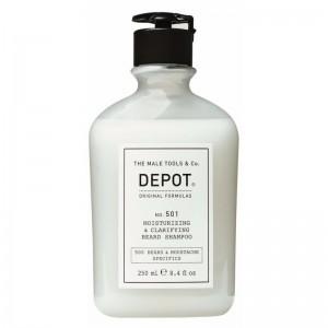 Depot - Depot No.501 Nemlendirici ve Temizleyici Sakal Şampuanı, 250 ml
