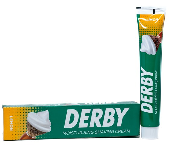 Derby Shaving Cream Lemon, 100 gr