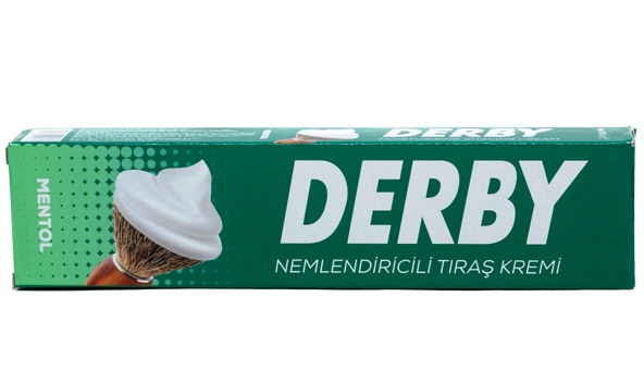 Derby Shaving Cream Menthol, 100 gr