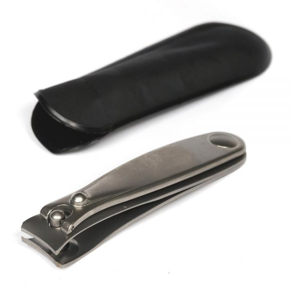 Dovo Nail Clipper in Leather Case, Large