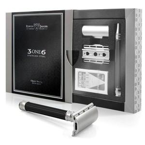 Edwin Jagger 3ONE6 Jiletli Tıraş Makinesi, Siyah - Thumbnail