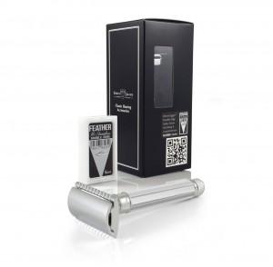 Edwin Jagger Sekizgen Saplı Jiletli Tıraş Makinesi DE89811BL - Thumbnail