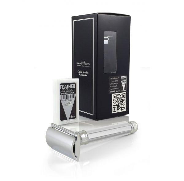 Edwin Jagger Sekizgen Saplı Jiletli Tıraş Makinesi DE89811BL