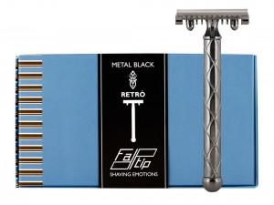 Fatip Retro Nero Jiletli Tıraş Makinesi - Thumbnail