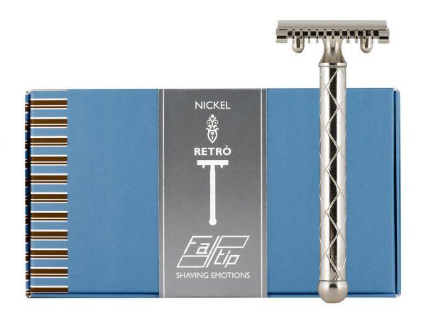 Fatip Retro Nikel Jiletli Tıraş Makinesi