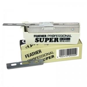Feather - Feather AC Profesyonel Super Ustura Jileti, 20'li kutu