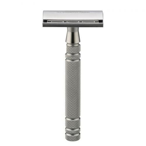 Feather All Stainless AS-D2 Double Edge Safety Razor