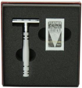 Feather All Stainless, AS-D2, Jiletli Tıraş Makinesi - Thumbnail
