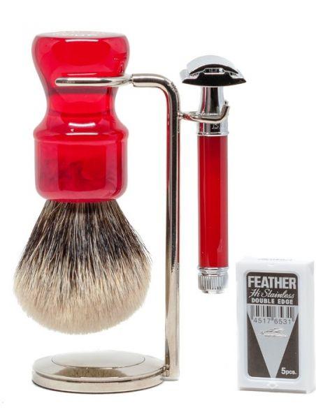 Fire Dance DE Shaving Set