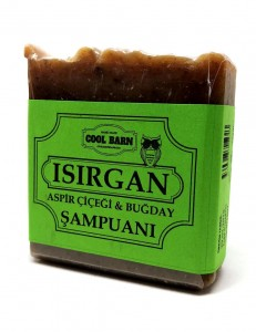 Cool Barn - Isırgan ve Aspir Çiçeği Katı Şampuanı