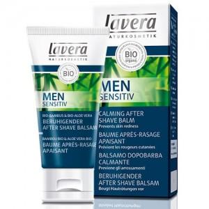 Lavera - Lavera Organik Tıraş Sonrası Sakinleştirici Balsam, Bambu & Aloe Vera, 50 ml