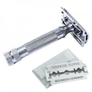 Merkur 34C Jiletli Tıraş Makinesi, Krom - Thumbnail