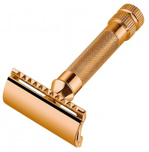 Merkur - Merkur 34G Jiletli Tıraş Makinesi, Altın kaplama