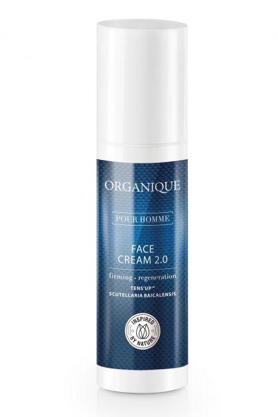 Organique Erkek Kırışıklık Karşıtı Yüz Kremi, 50 ml