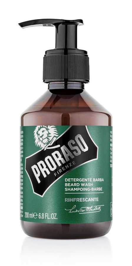 Proraso Beard Shampoo, Eucalyptus, 200ml