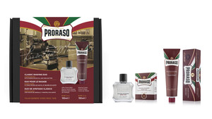 Proraso Duo Gift Pack, Nourishing, After Shave Balm - Thumbnail