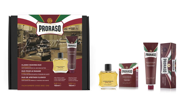 Proraso Duo Gift Pack, Nourishing, After Shave Lotion