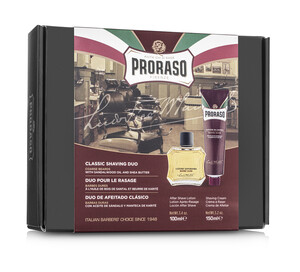Proraso Duo Gift Pack, Nourishing, After Shave Lotion - Thumbnail