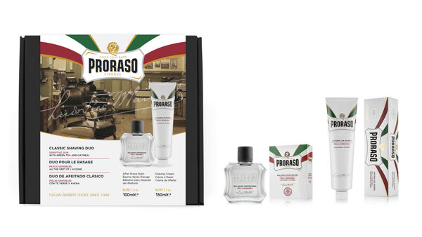 Proraso Duo Gift Pack, Sensitive, After Shave Balm