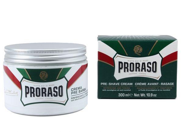 Proraso Tıraş Öncesi Kremi - Okaliptüs Yağı ve Mentollü, 300ml