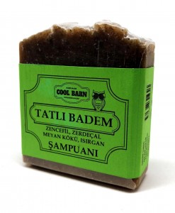 Cool Barn - Tatlı Badem Katı Şampuanı