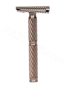 Yaqi Agamemnon Jiletli Tıraş Makinesi, Slant, Bakır Renkli - Thumbnail