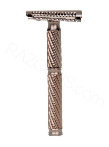 Yaqi Agamemnon Jiletli Tıraş Makinesi, Slant, Bakır Renkli