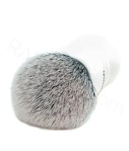 Yaqi Büyük Beyaz Tuxedo Sentetik Tıraş Fırçası - Thumbnail