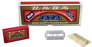 Zaza - Zaza Gold Yaprak Jilet, 100'lü Paket